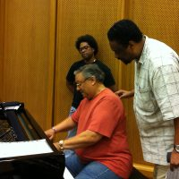 REHEARSAL WITH ARTURO SANDOVAL AND IVAN BRIDON