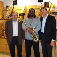 Patrick Selmer, Chico Freeman and Jerome Selmer