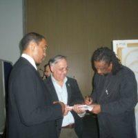 Javon Jackson, Nikos Theodorakis and Chico Freeman