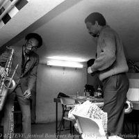 Chico and Sam Rivers. Photo by Ducasse