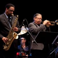 Chico Freeman and Arturo Sandoval in consert